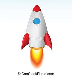 starten, rakete