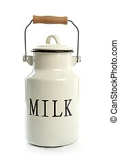 stil, urne, traditionelle , landwirt, weißes, milchkrug