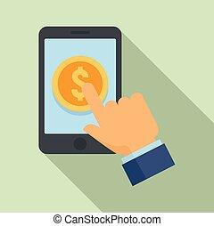 stil, wohnung, crowdfunding, smartphone, ikone