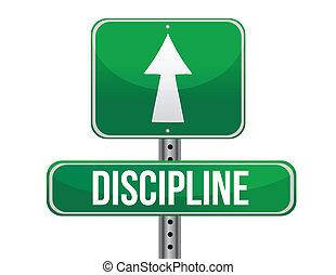 straße zeichen, abbildung, disziplin