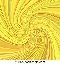 strahlen, hintergrund, bunte, gedreht, -, abbildung, vektor, töne, wirbel, geometrisch