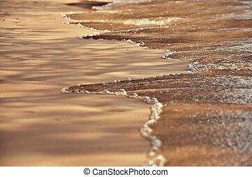 Strandsand-Hintergrund
