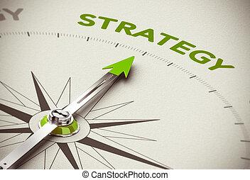 strategie, grünes geschäft