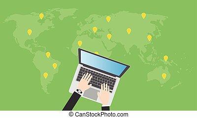 Suchen oder finden Sie online Orte.