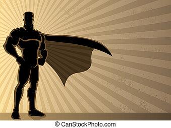 Superhero Hintergrund