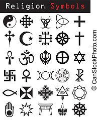 symbole, religion