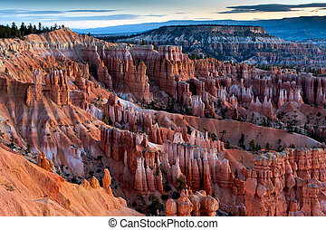 Szenenbild von Bryce Canyon Süd-Utah USA