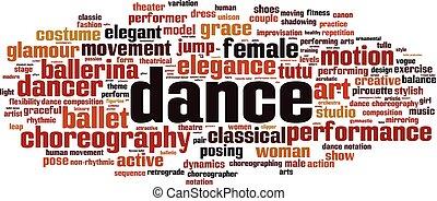 Tanzwortwolke
