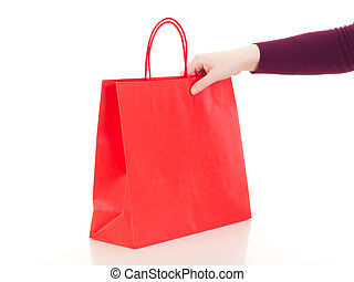 tasche, shoppen