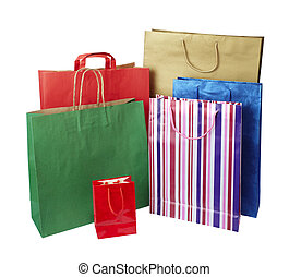 tasche, verbraucherbewegung, einzelhandelseinkäufe