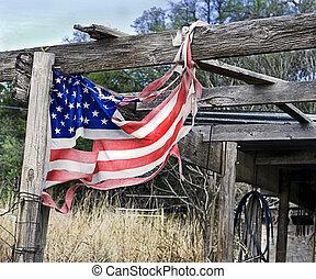 tatters, amerikanische markierung