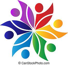 Teamwork Diversity Logo.