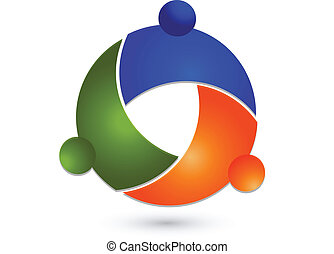 Teamwork Global People Logo.