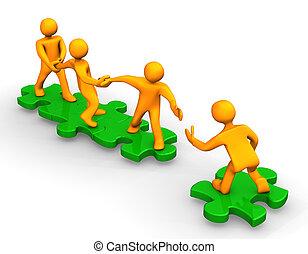 Teamwork hilft
