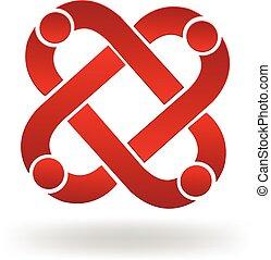 Teamwork-Leute-Logo.