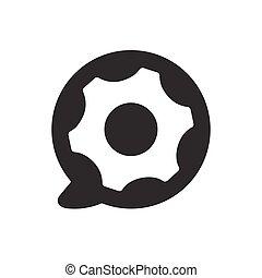 Technisches Support-Icon.