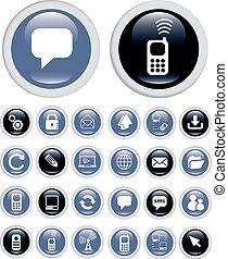 technologie, geschäfts-ikon