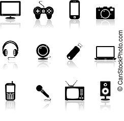 Technologie-Icons.