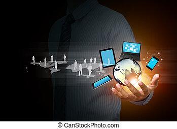 Technologie und soziale Medien