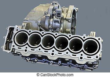 Teil des Motors