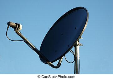 tellergericht, satelite
