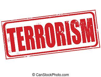 Terrorismusstempel.