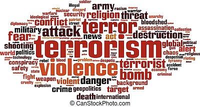 Terrorismuswortwolke
