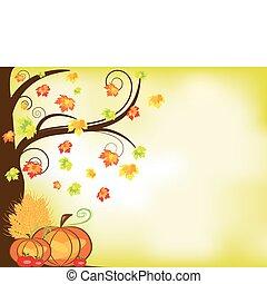 Thanksgiving Hintergrund