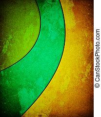 three-color, grunge, hintergrund