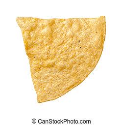 Tortilla-Chip isoliert