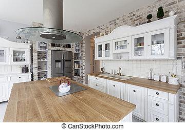 Toskana - Küchenregale.