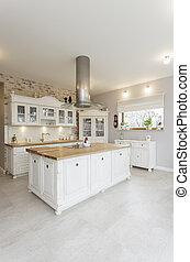 Toskana - weiße Küche