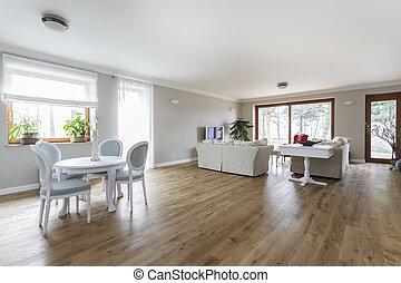 Toskana - Wohnzimmer.