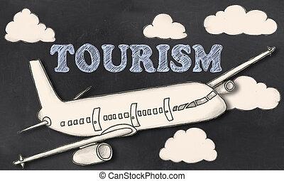 Tourismus an der Tafel.