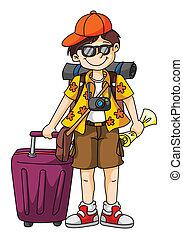 Tourist.