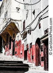 Traditionelle morokkanische Architektur