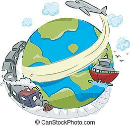 transport, modi