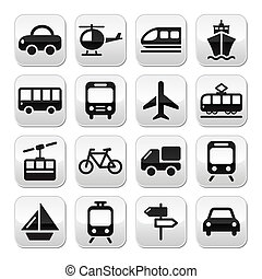 Transport, Reisevektorknöpfe