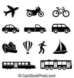 transport, schwarz, heiligenbilder