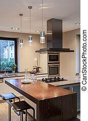 Travertine-Haus - Küche