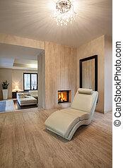 Travertine-Haus: Sessel