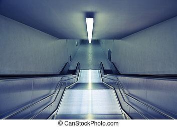 u-bahn treppe, modern