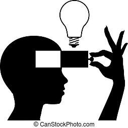 Um neue Ideenbildung zu lernen