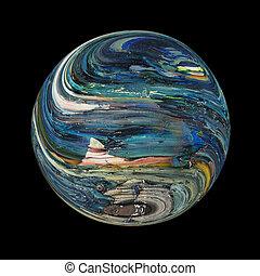 Unbekannter Planet
