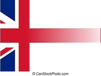 Union Jack Hintergrund.