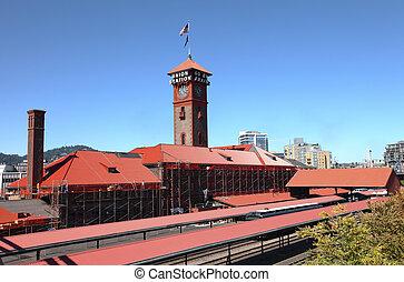 Union Station, Backbord.