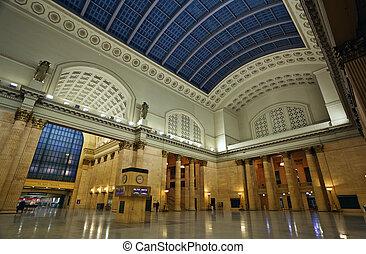 Union Station Chicago.