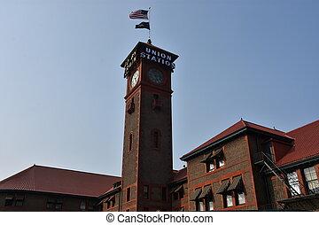 Unionsstation in Portland.