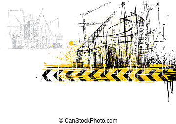 Unter der Baustelle