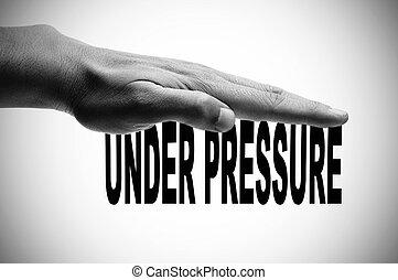 Unter Druck